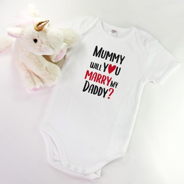 """Baby Body """"Mummy will you marry my daddy"""""""
