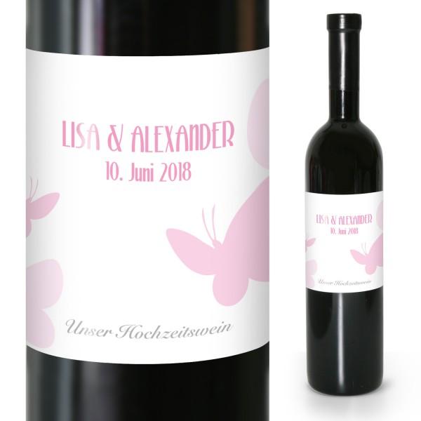 """Flaschenetikett """"Lisa"""" (4 St.)"""