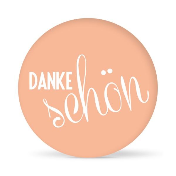"Aufkleber ""Dankeschön"" farbig (24 St.)"
