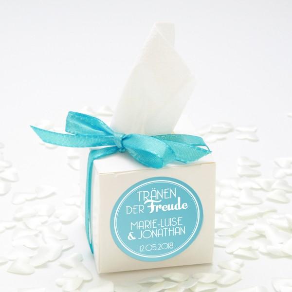 """Happy-Tears-Box """"Türkis"""" 3-teilig"""