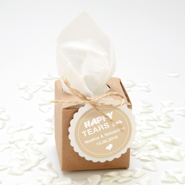 "Happy-Tears-Box ""Natur"" 4-teilig"