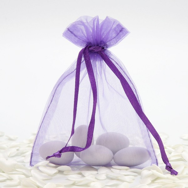 """Organzabeutel """"Lavendel"""" (10 St.)"""
