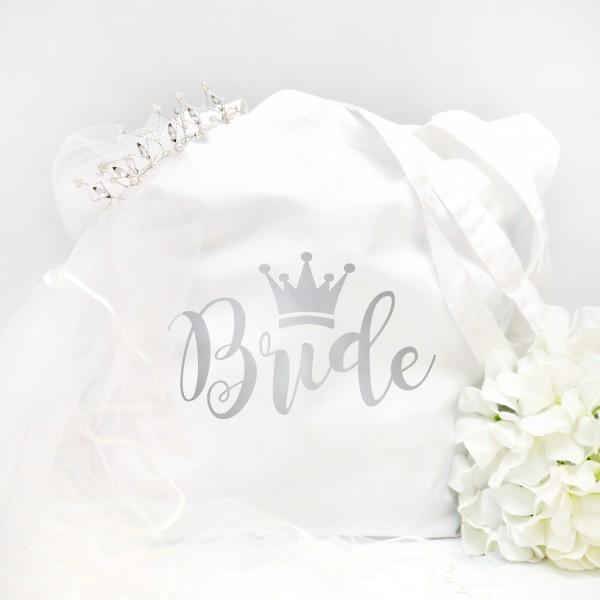 """Stofftasche """"Weiß"""" Bride (38x42cm) in 5 Farben"""