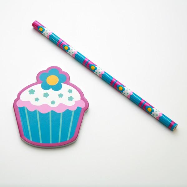 "Schreibset Cupcake ""Flower"""