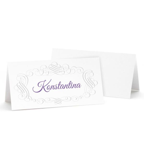 """Tischkarte """"Konstantina"""" in 12 Farben"""