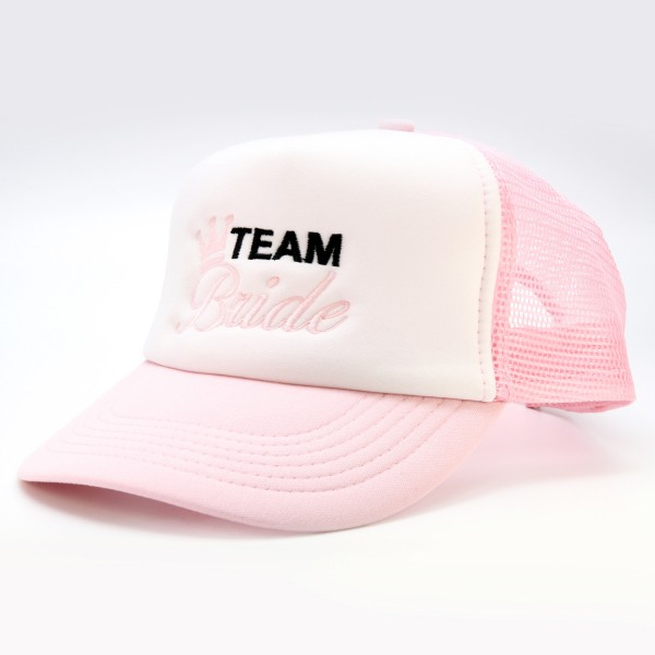 """Basecap Team Bride """"Rosa"""""""