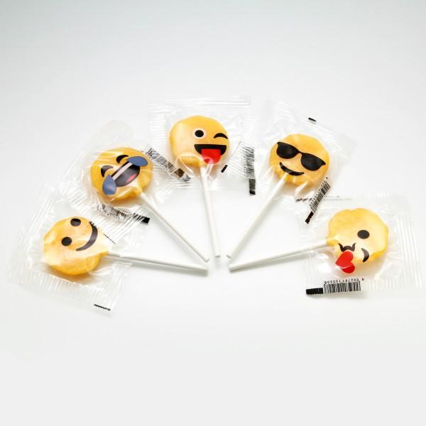 Emoji Lollies 5 Stk.