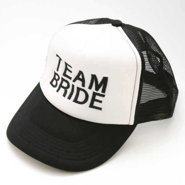 "Basecap Team Bride ""Schwarz"""