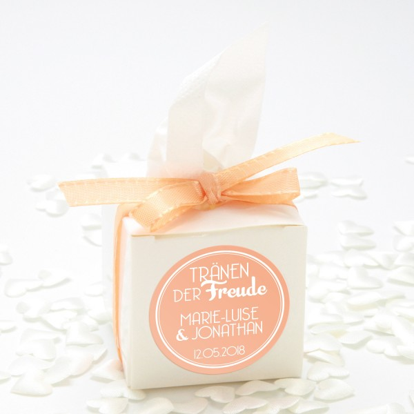 "Happy-Tears-Box ""Apricot"" 3-teilig"