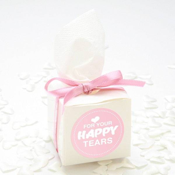"Happy-Tears-Box ""Rosa"" 3-teilig"