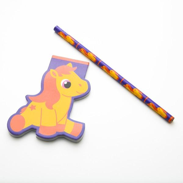 """Schreibset Pretty Pony """"Gelb"""""""