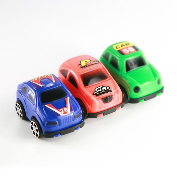 Spielautos mit Rückfahrantrieb 3er Set