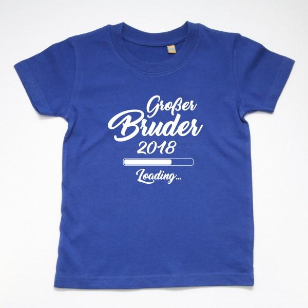"""T-Shirt """"Großer Bruder loading"""" in 3 Farben"""
