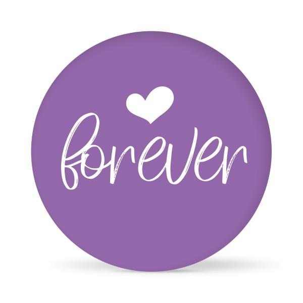 """Aufkleber """"Forever"""" farbig (24 St.)"""