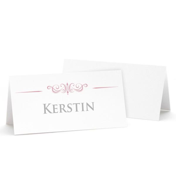 "Tischkarte ""Kerstin"" in 12 Farben"