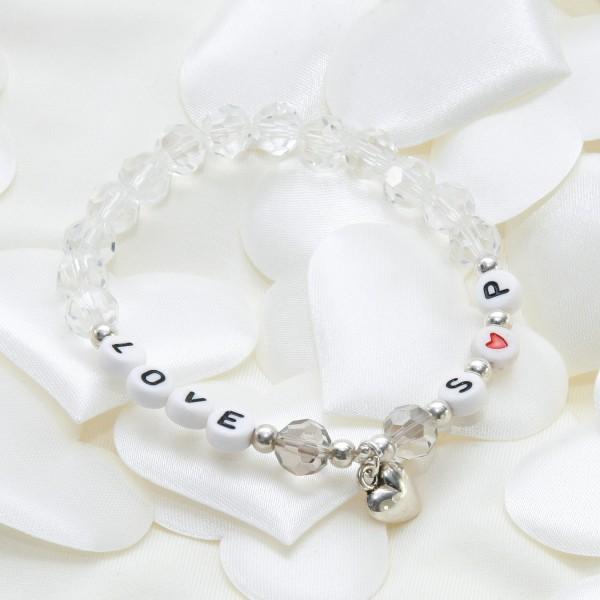 "Armband ""LOVE"" (personalisierbar)"