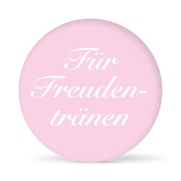 """Aufkleber """"Für Freudentränen"""" farbig (24 St.)"""