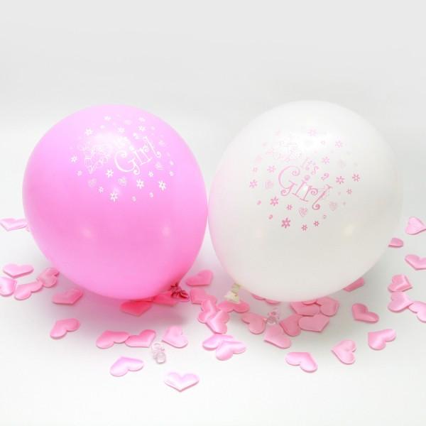 """Ballon-Set """"It's a girl"""" (12 St.)"""