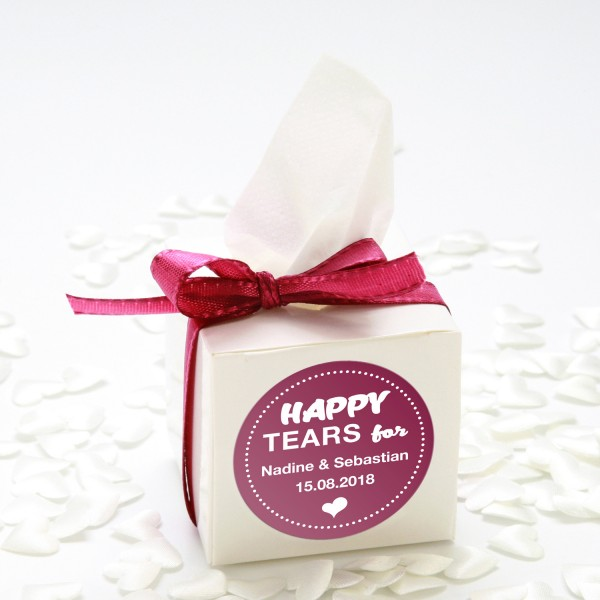 "Happy-Tears-Box ""Brombeere"" 3-teilig"