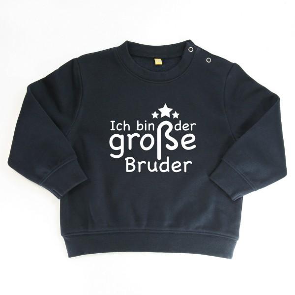 """Sweater """"Ich bin der große Bruder"""" Dunkelblau"""