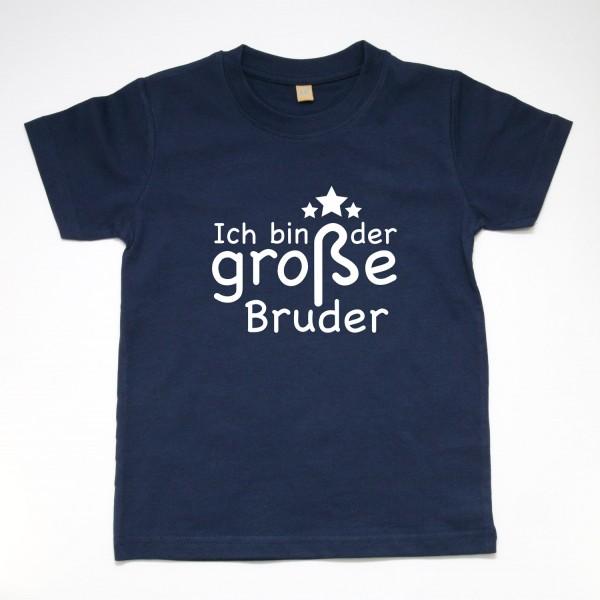 """T-Shirt """"Ich bin der große Bruder"""" in 3 Farben"""