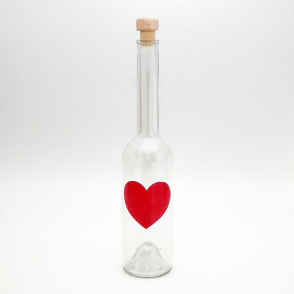 """Flasche """"Herz"""" 350ml"""